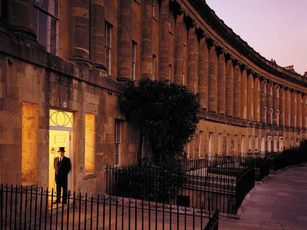 Royal Crescent, Bath, UK