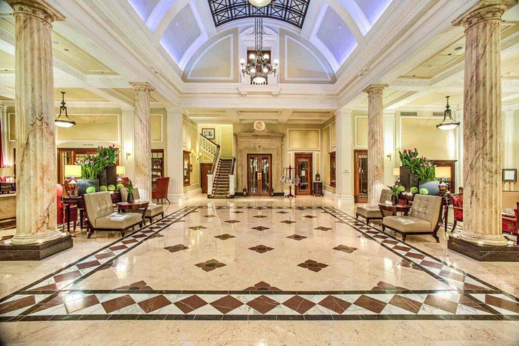 Taj Cape Town lobby