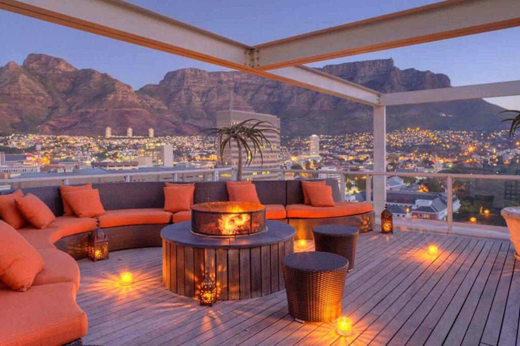 Taj Cape Town rooftop