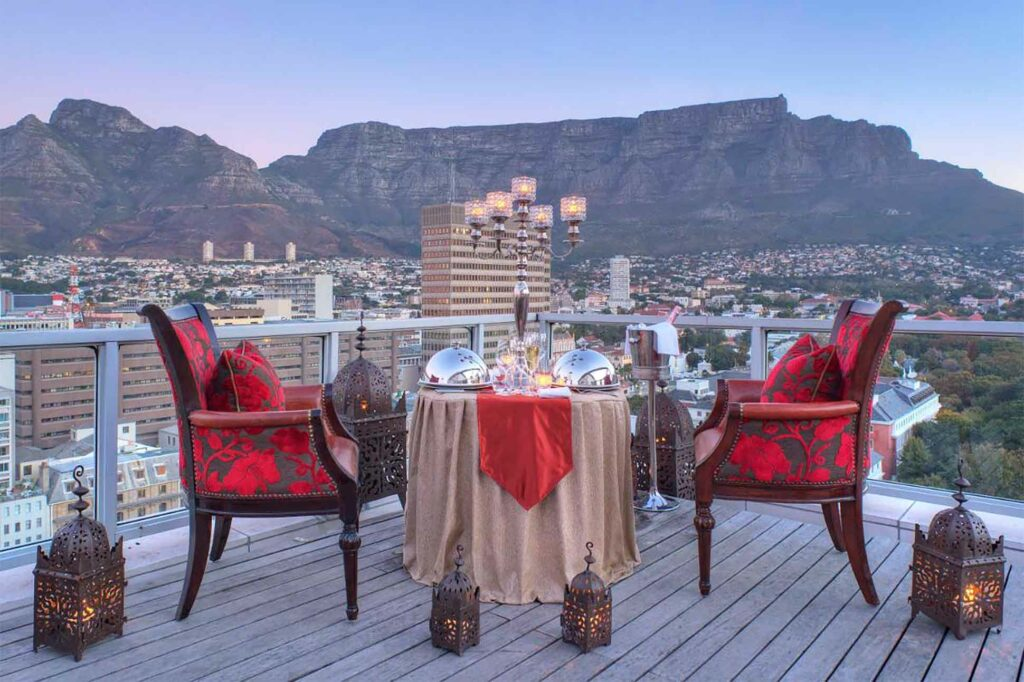 Rooftop at Taj Cape Town, South Africa
