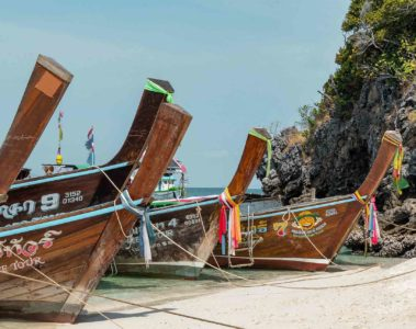 Long boat in Phuket, Thailand