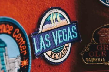 Embroidered patch of Las Vegas, Nevada, USA