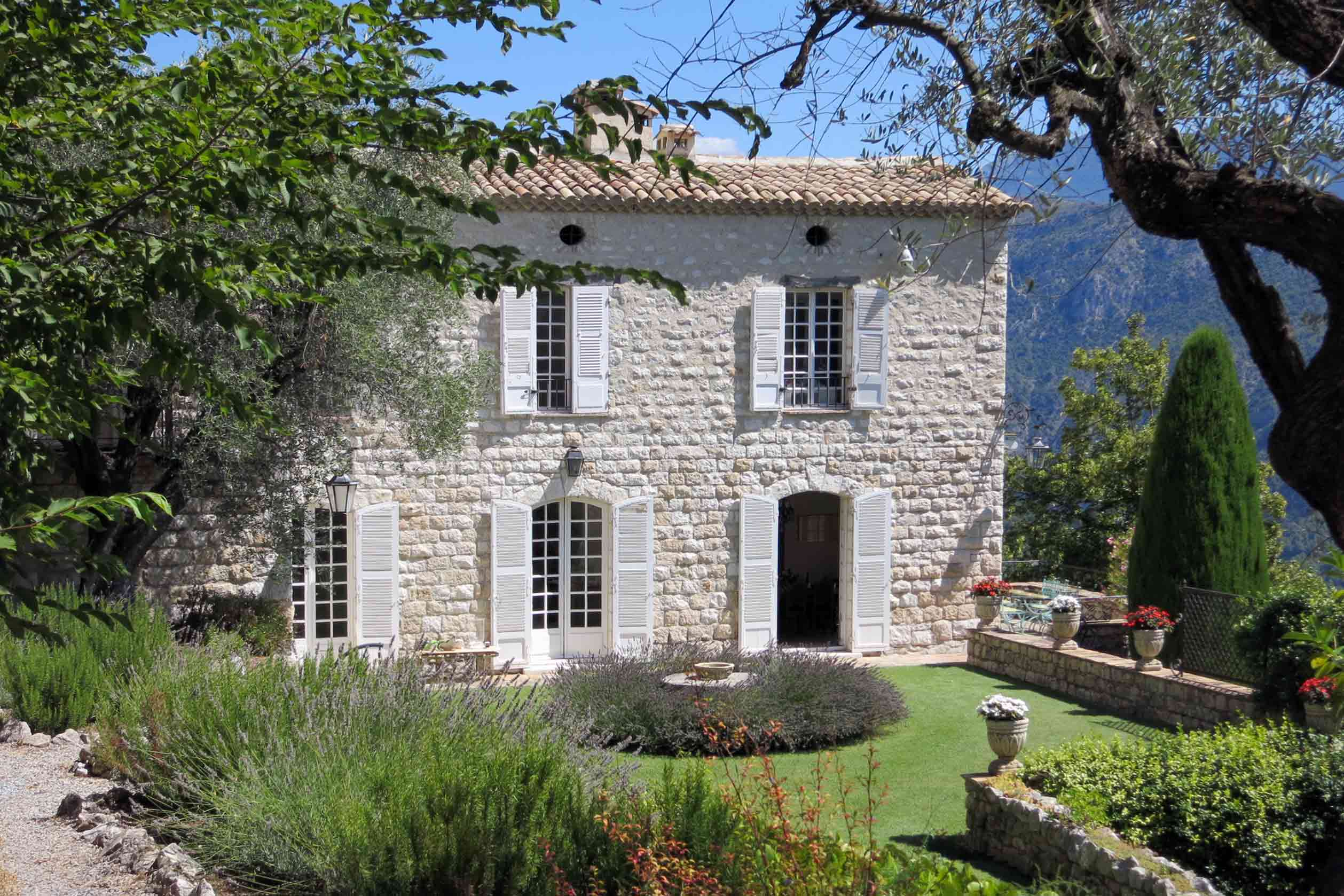 Exterior of Chateau Haute Germaine, South of France