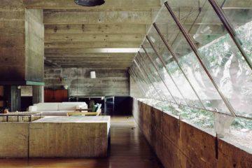 Interior of Casa Masetti in Sao Paulo, Brazil
