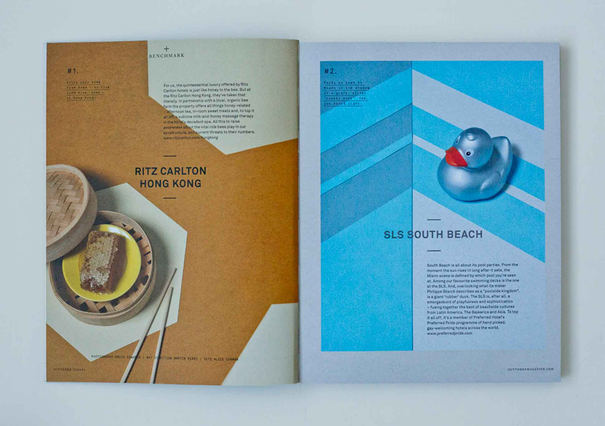 OutThere/Travel Great British Issue preview - Ritz Carlton Hong Kong and SLS Miami