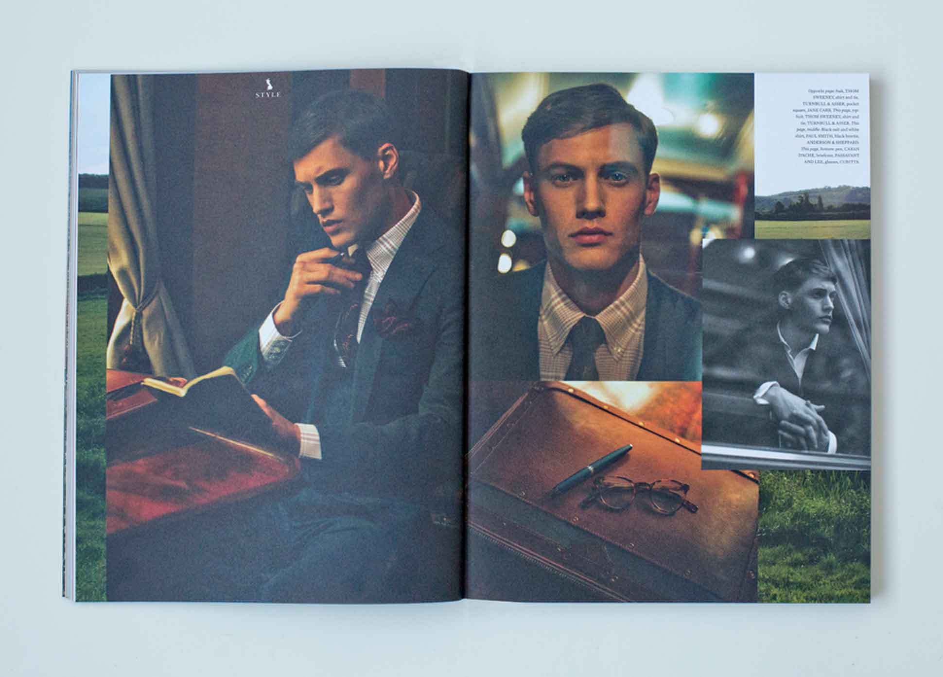 OutThere/Travel Great British Issue preview - British Brands Fashion Shoot on Belmond British Pullman