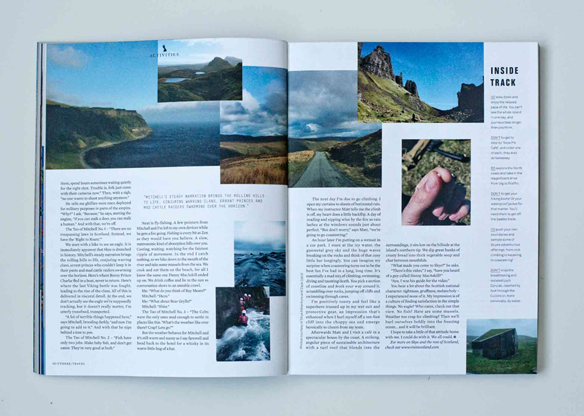 OutThere/Travel Great British Issue preview - Skye and Kinloch Lodge