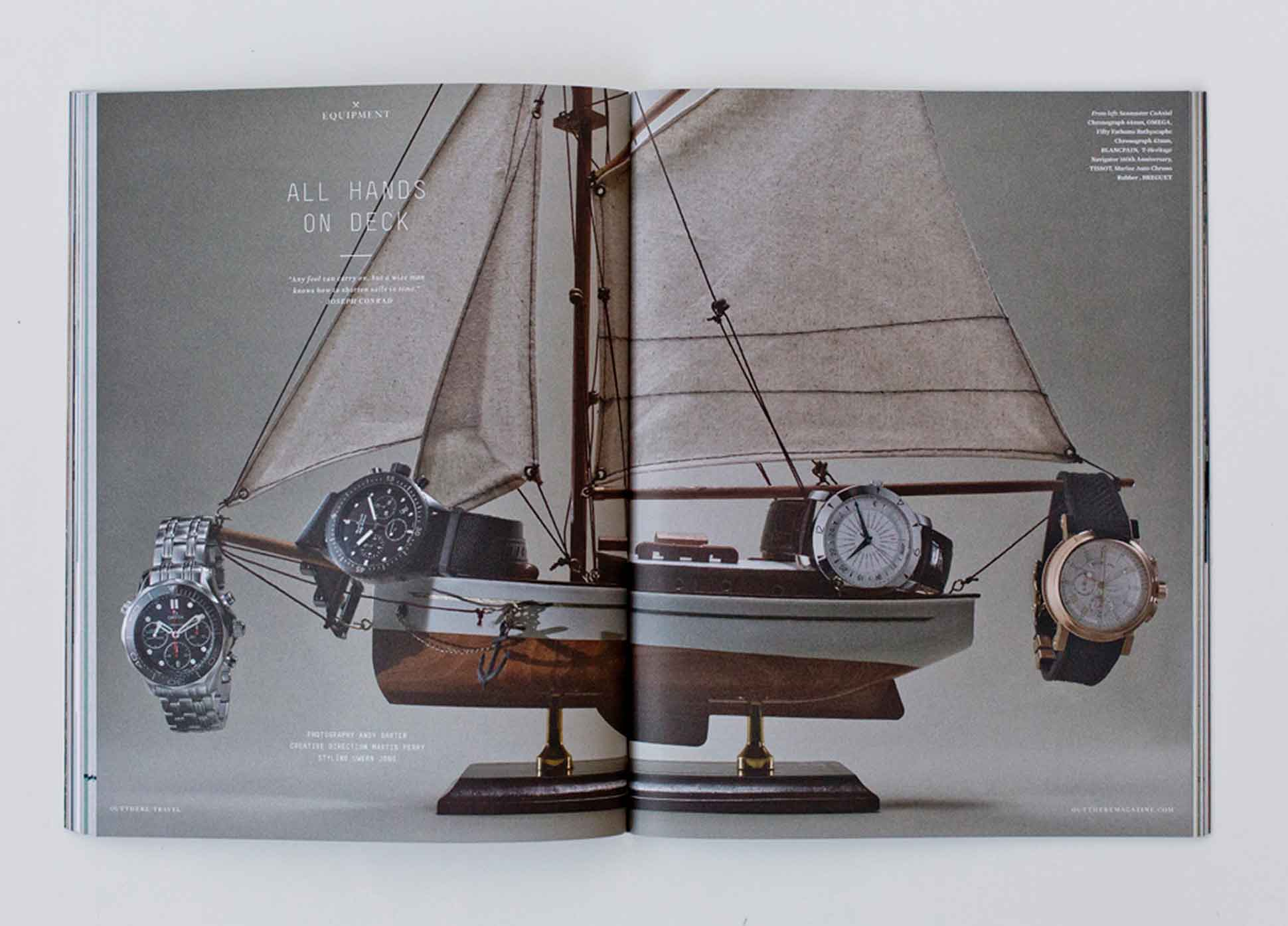 OutThere/Travel Great British Issue preview - watches Tissot, Omega, Breguet, Blancpain