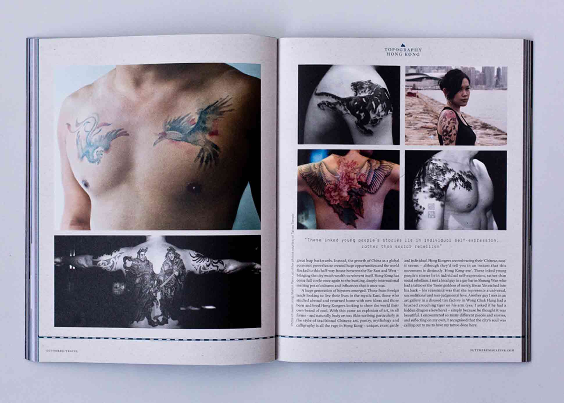 OutThere/Travel Great British Issue preview - Hong Kong Tattoo