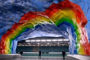 Art on Stockholm's Subway system