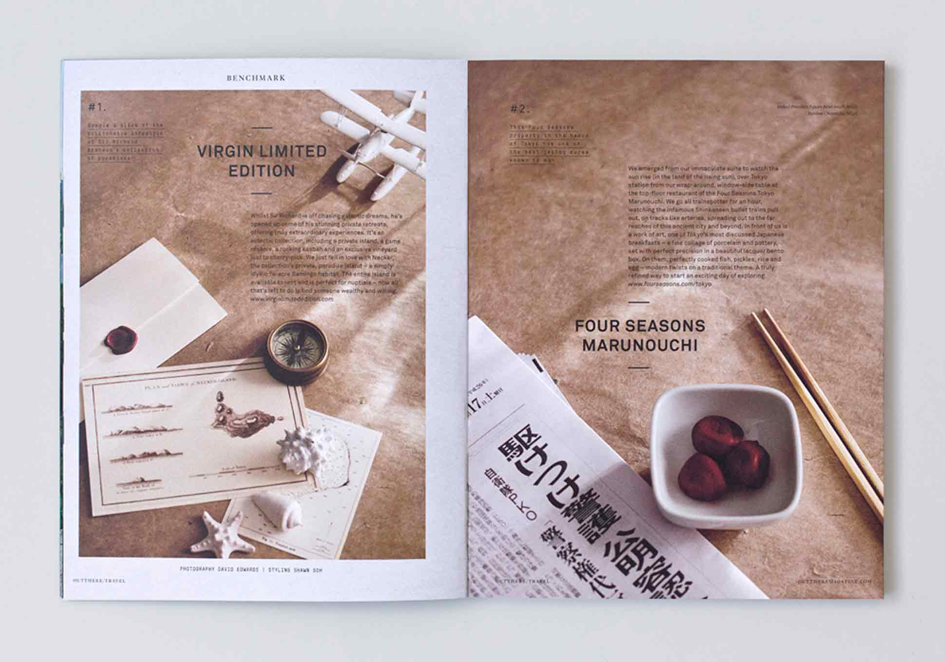 Out There Travel Beautiful Bali Issue Preview - Virgin Limited Edition, Four Seasons Marounochi, Tokyo