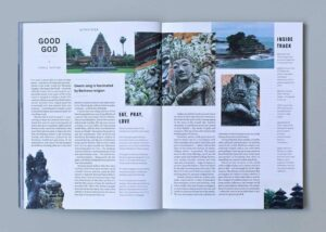 Out There Travel Beautiful Bali Issue Preview - Template Hopping