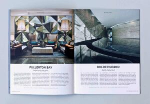 Out There Travel Beautiful Bali Issue - Fullerton Bay, Dolder Grand