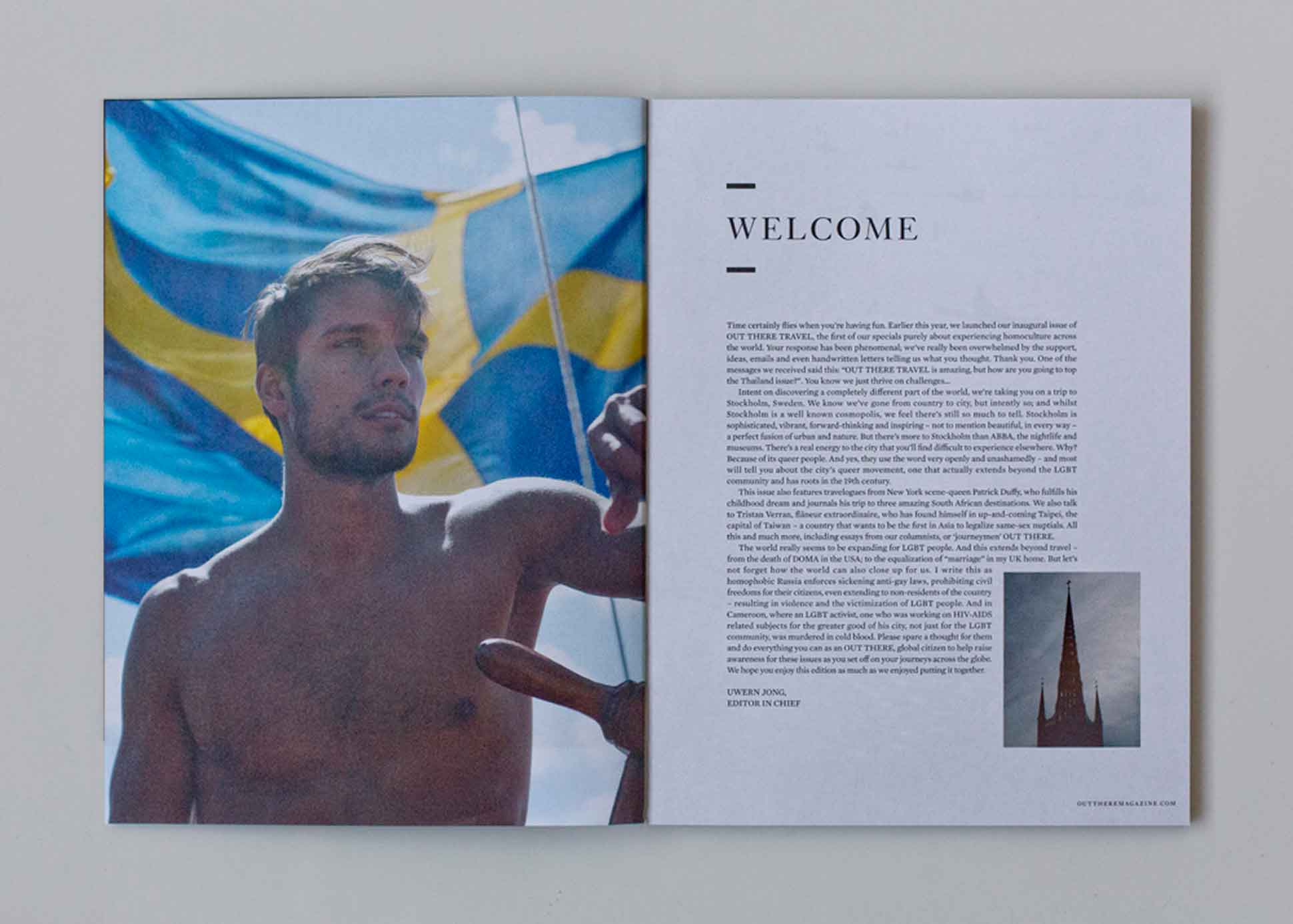 Out There Travel Sophisticated Stockholm Issue - Erik Ahlmark