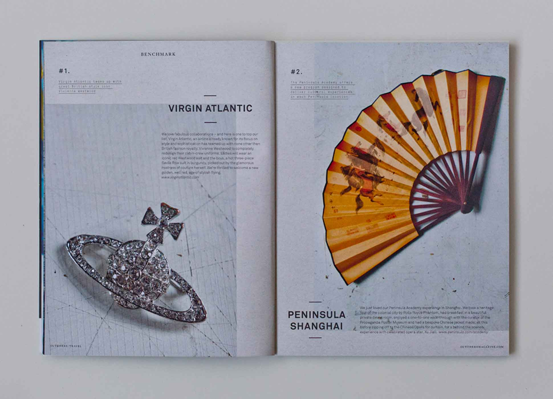 Out There Travel Sophisticated Stockholm Issue - Vivienne Westwood Virgin Atlantic, Peninsula Shanghai Academy