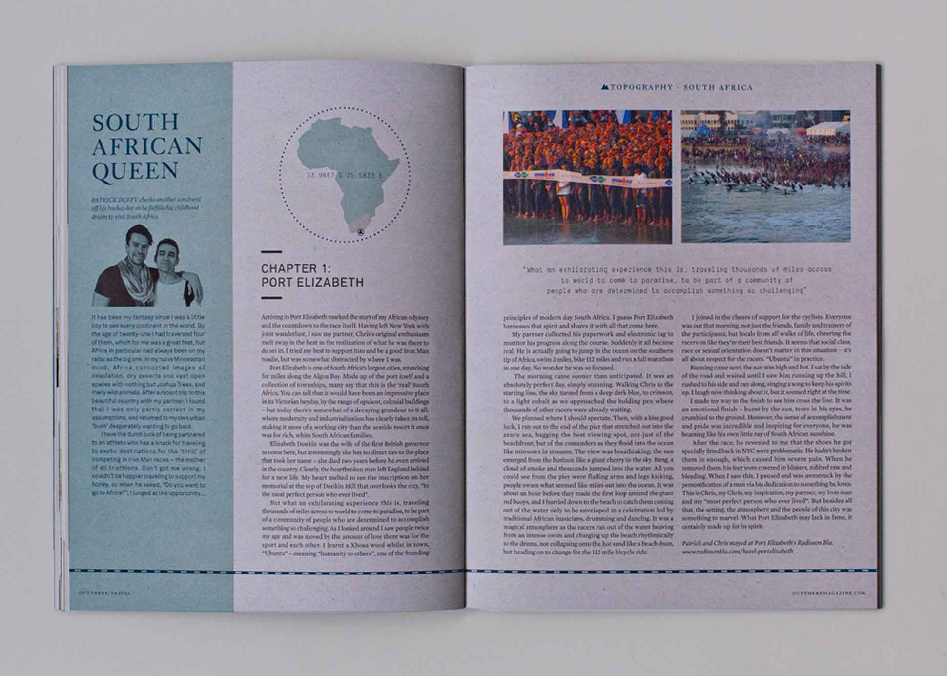 Out There Travel Sophisticated Stockholm Issue - Patrick Duffy, Chris Marta South Africa