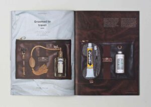 Out There Travel Sophisticated Stockholm Issue - Patrick Duffy, Grooming Travel Accessories