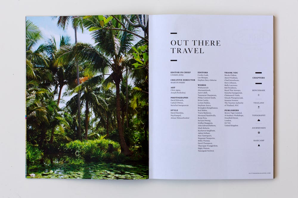 Out There Travel Amazing Thailand Issue
