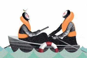Gay Cruising, Illustration by Brett Ryder