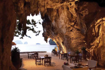 The Grotto at the Rayavadee resort, Krabi, Thailand