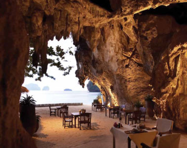 The Grotto at the Rayavadee resort, Krabi, Thailand