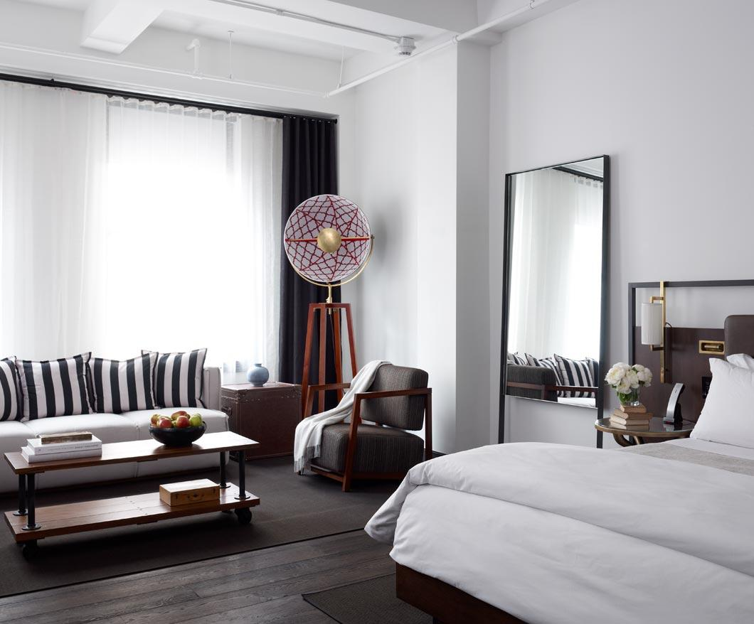 Refinery hotel nyc usa out there magazine luxury and for Modern hotel nyc