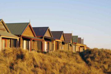 Huts in Tasmania, Australia
