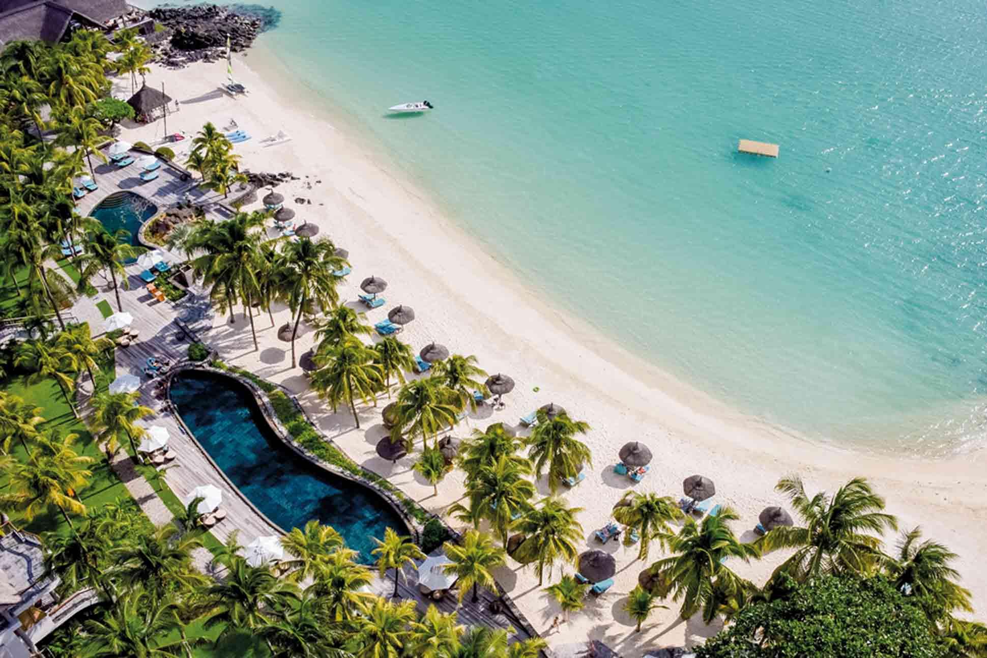 Royal Palm hôtel aérien grand baie