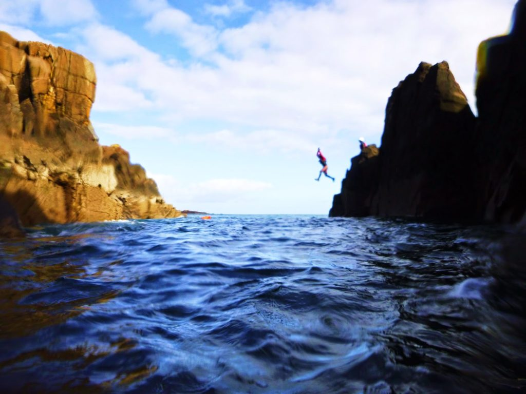 Coasteering with Skye Adventures, more fun than it looks