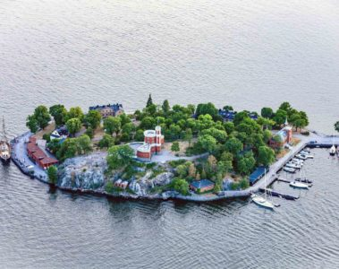 Kastellholmen island in Stockholm, Sweden
