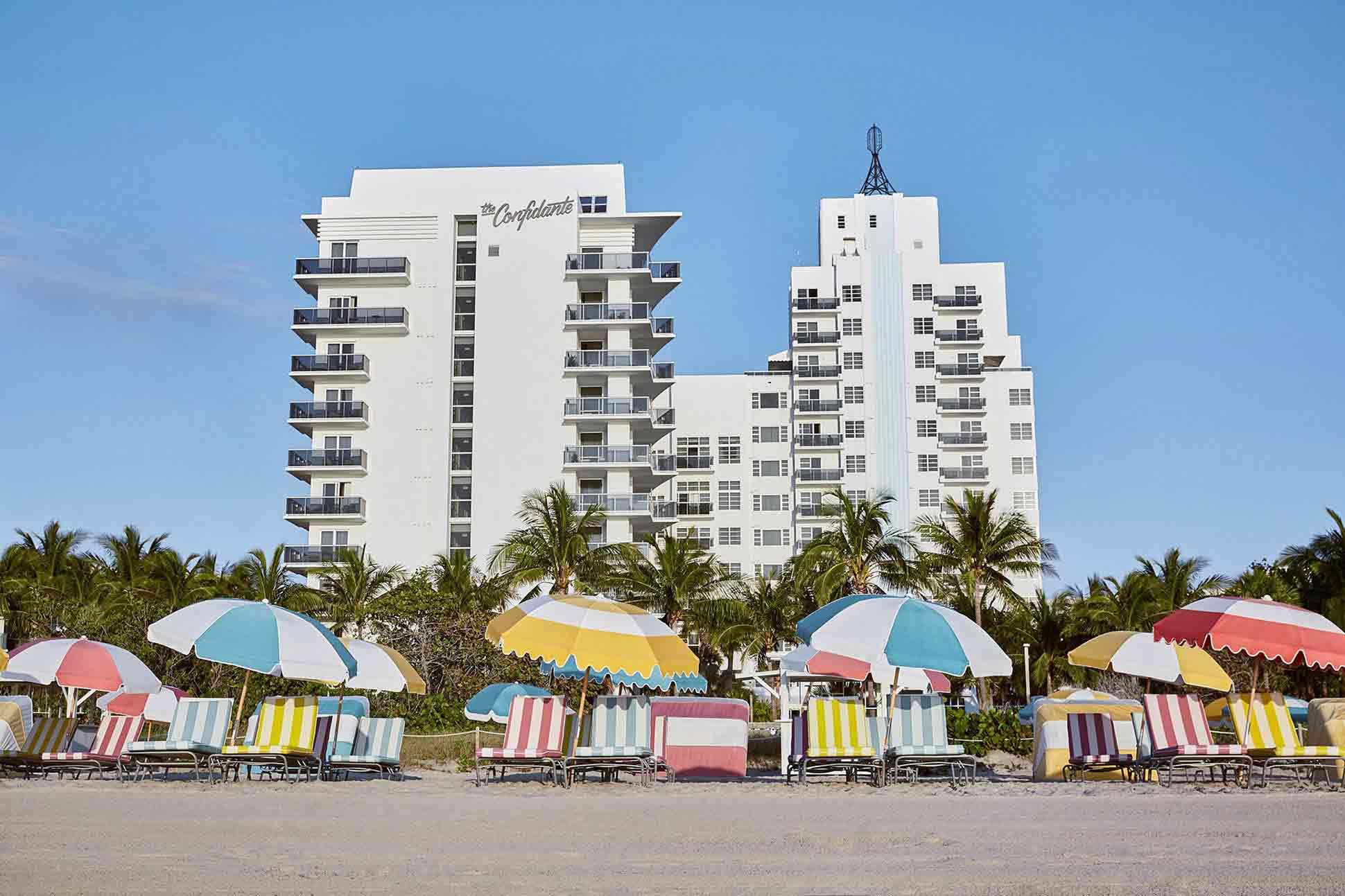 The Confidante Miami Beach Hotel Miami, Florida, USA