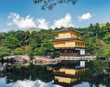 Golden Pavilion in Kyoto, Japan