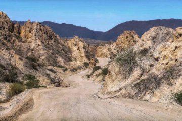 A road in Salta, Argentina