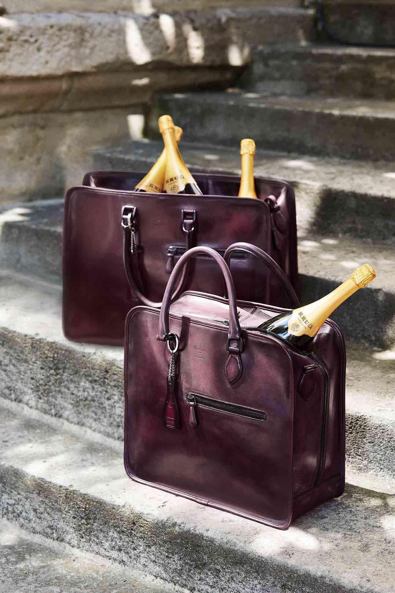 Berlutti pour Krug bag