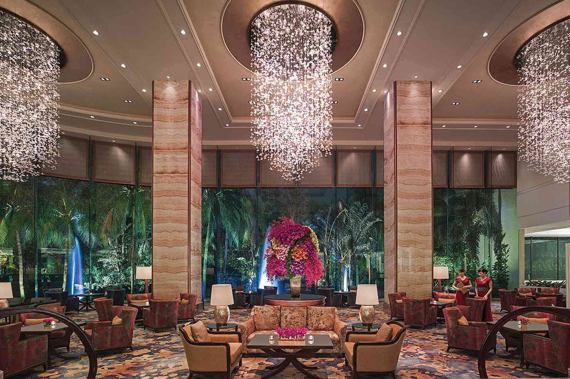 Shangri La Hotel Abu Dhabi Location