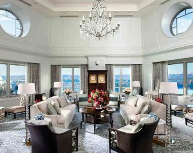 Mandarin Oriental Washington D.C. lounge