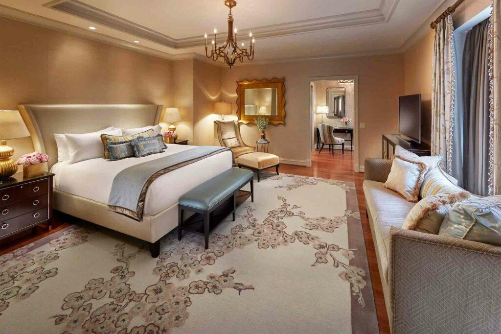 Mandarin Oriental Washington D.C. suite