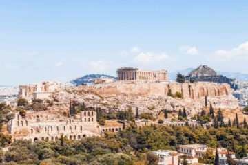 View over Athens, Greece