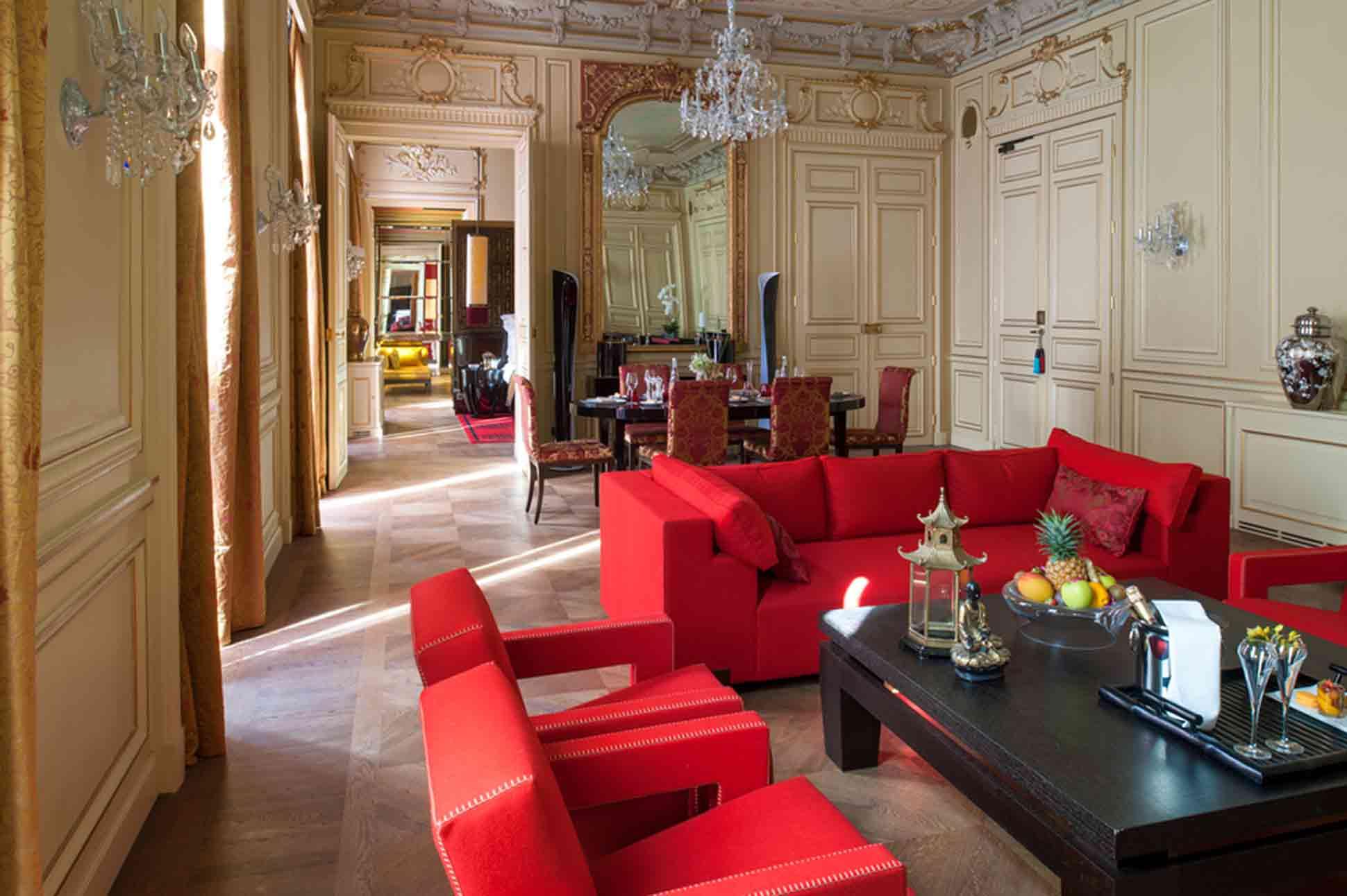 Buddha Bar Hotel Paris Suite de Gagny