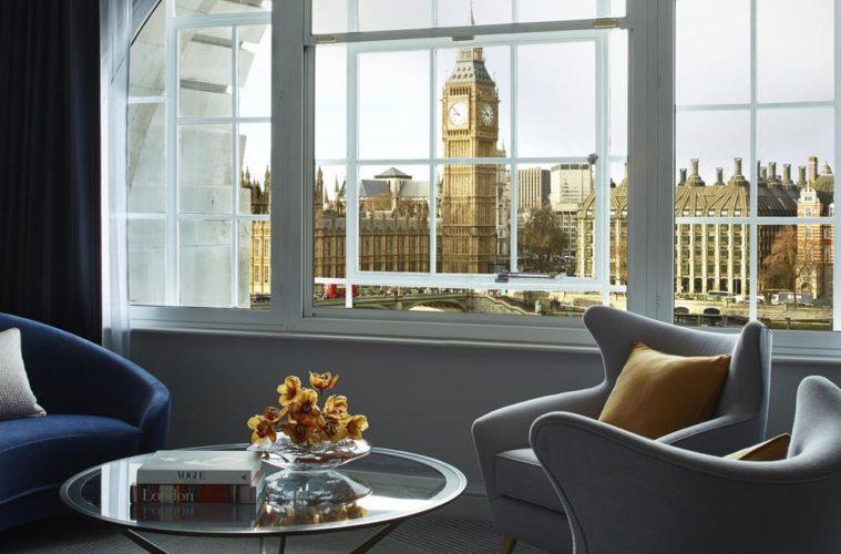 London Marriott Hotel County Hall London Uk
