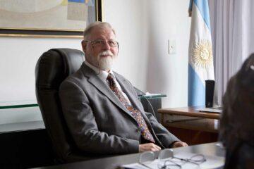 Portrait of Alberto Manguel, Buenos Aires, Argentina