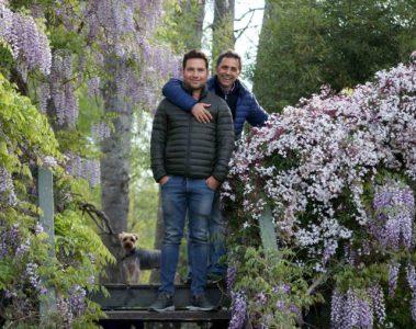 Portrait of Claudio Stamato and Andrés Felipe Durán, Isla El Descanso, Delta Tigre, Argentina