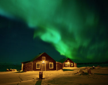 Torfhus Iceland Northern Lights