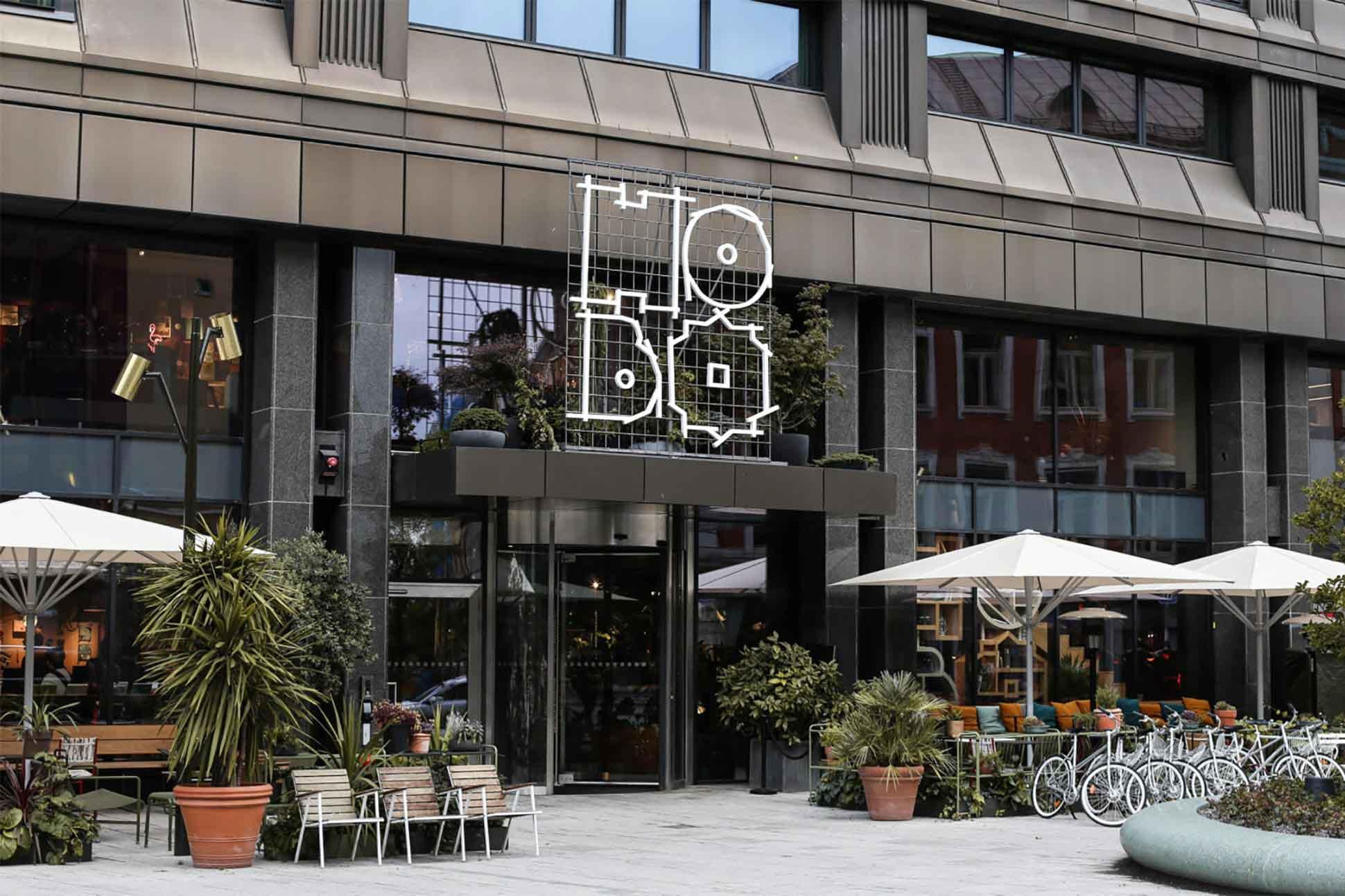 Exterior of Hobo Hotel, Stockholm, Sweden