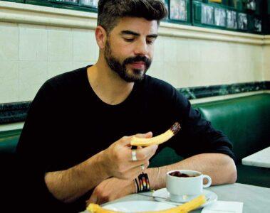 Portrait of Borja Pena, Madrid, Spain