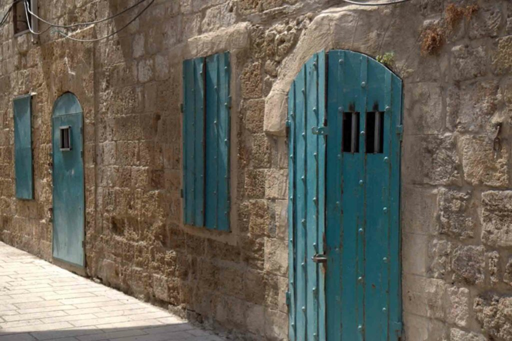 Akko or Acre, Israel doors