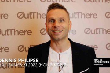 Dennis Philipse, Gay Games XI Hong Kong