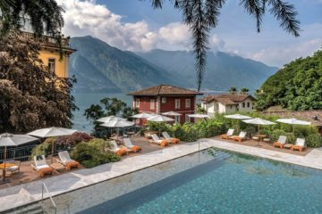 Hotel Grand Tremezzo, Lake Como, Italy