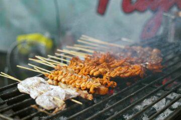 Barbecue in Manila, The Philippines