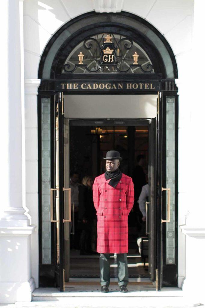 Doorman at Belmond Cadogan Hotel London